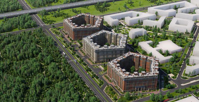 2-комнатные квартиры в ЖК Ariosto (Ариосто)