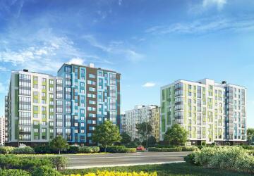 3-комнатные квартиры в ЖК Янила Драйв