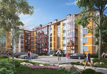 1-комнатные квартиры в ЖК Образцовый квартал 4