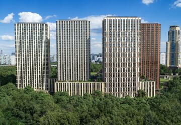 3-комнатные квартиры в ЖК Discovery Park (Дискавери Парк)