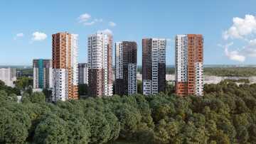 ЖК Одинград. Кварталы Лесной и Центральный
