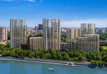 3-комнатные квартиры в ЖК RiverSky (РиверСкай)