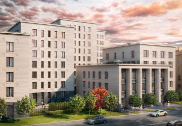 3-комнатные квартиры в ЖК Futurist (Футурист)