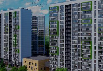 1-комнатные квартиры в ЖК Q-мир (Кью-мир)