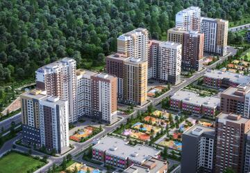1-комнатные квартиры в ЖК Южная Битца, Битца
