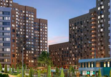 1-комнатные квартиры в ЖК Тополя