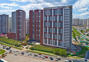 Квартиры-студии в ЖК Ленинградский, Химки
