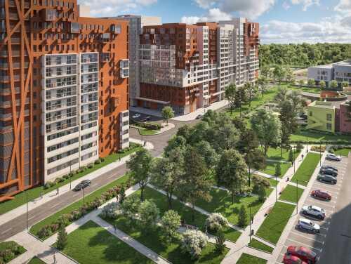 Кварталы «Отрада» Квартиры от 4,5 млн рублей. 5 минут до
