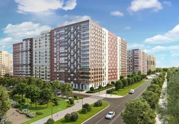 1-комнатные квартиры в ЖК Новое Пушкино