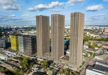 Купить квартиру в ЖК Савеловский Сити