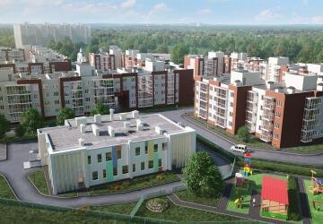 3-комнатные квартиры в ЖК Пушкарь, Тарасовка