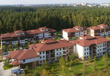 1-комнатные квартиры в ЖК Лесной городок, Холмы