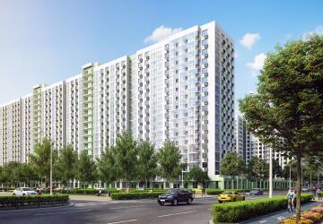 1-комнатные квартиры в ЖК Лидер парк, Мытищи