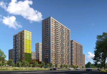 4-комнатные квартиры в ЖК Петра Алексеева, 12А