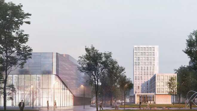 Клубный дом Din Haus Апартаменты от 238 000 руб./м²