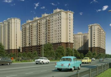 2-комнатные квартиры в ЖК Котельнические высотки, Котельники