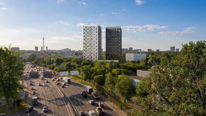 Апарт-комплекс «Сокольнический Вал 1» До метро «Сокольники»
