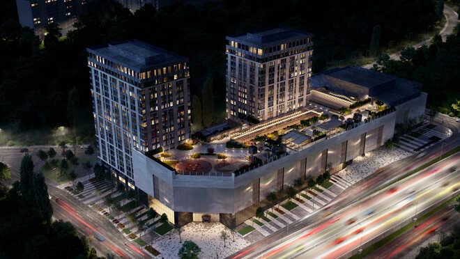 West Tower в ЗАО Cтарт бронирования готовых апартаментов
