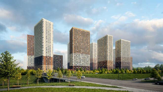 ЖК «Матвеевский парк» Рядом строится станция метро