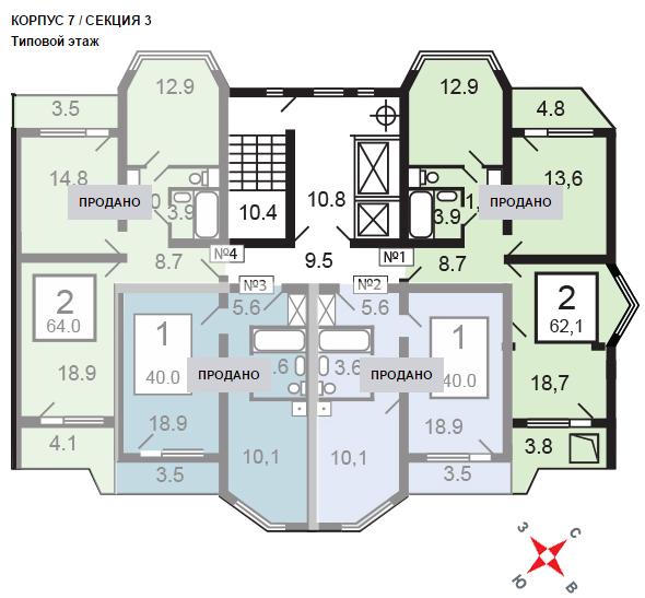 план микрорайоне 18 балашиха