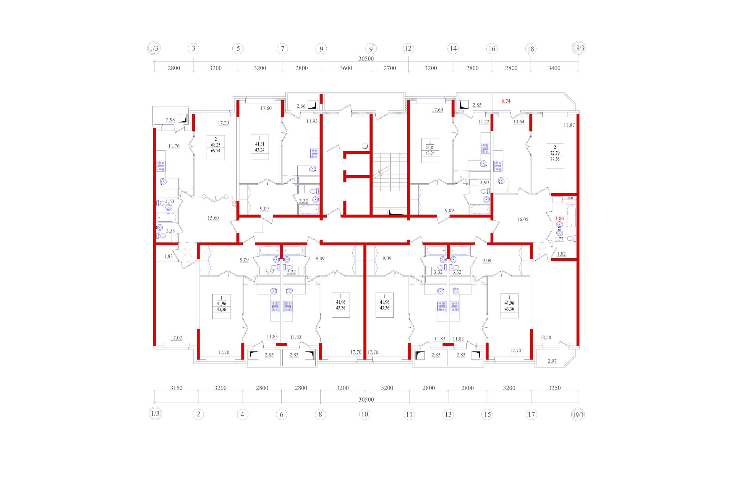 Схема проводки в квартире советской панельной пятиэтажки