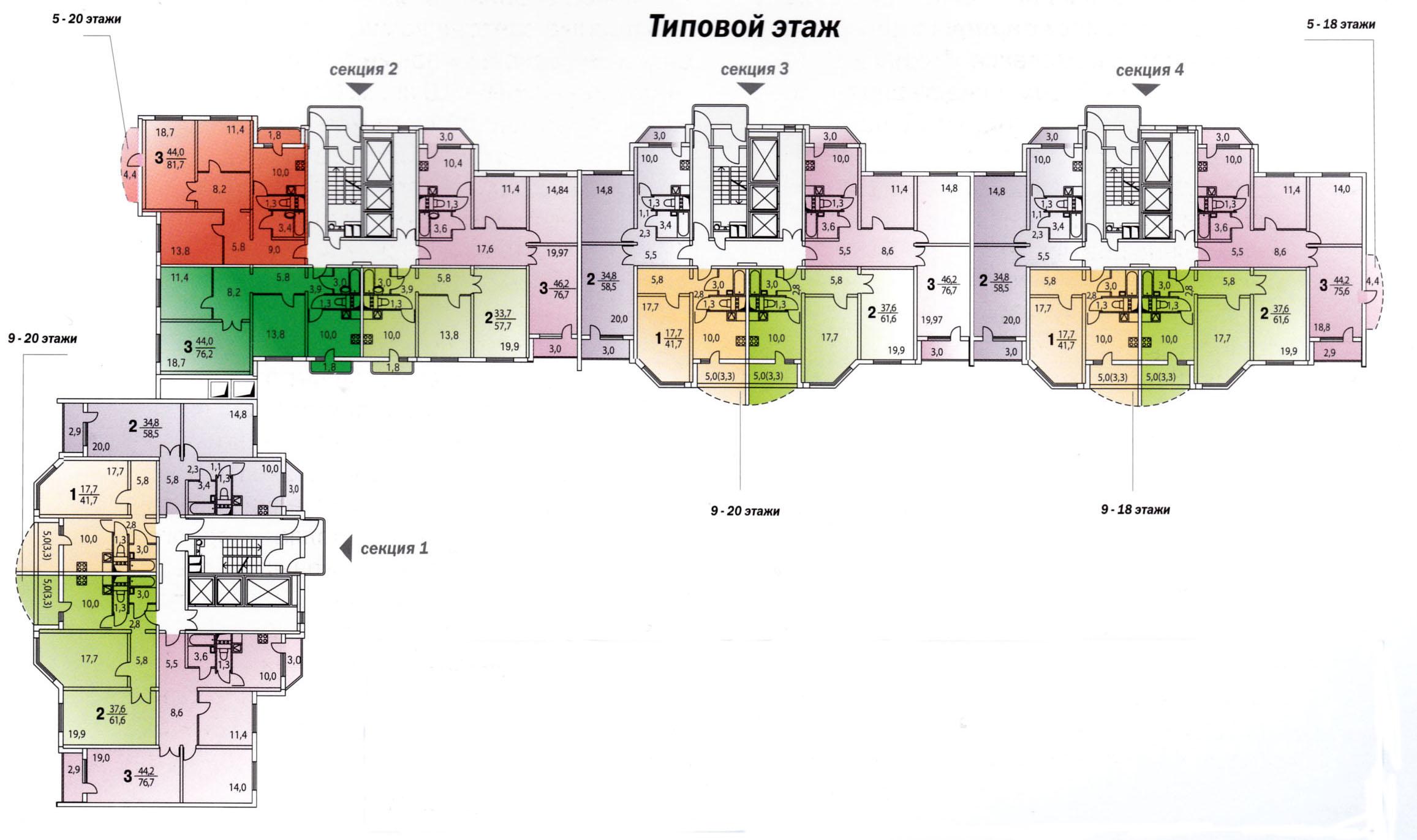 1192 жилых комплекса  Новостройки в Москве от
